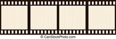 Aged Film Strip