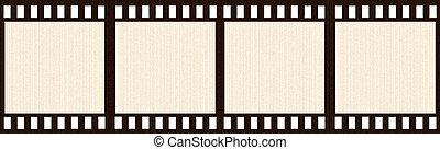 Aged Film Strip
