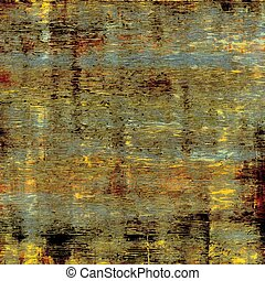 Aged grunge texture. With different color patterns: yellow (beige); brown; black; blue