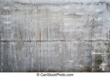 Aged grunge textured outdoor wall background