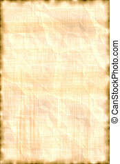 A parchment aged paper designed for background purpose. Text can be added.
