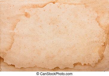 Aged vintage paper background