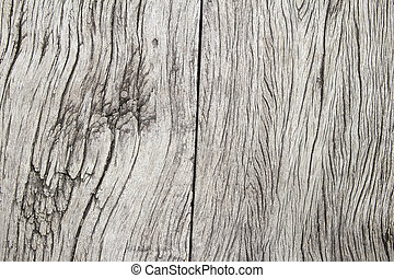 Aged Weathered Old Wood Planks with Grain Background