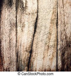 Aged wooden background texture, vintage natural oak background