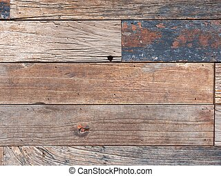 Aged wooden fence background