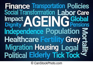 Ageing Word Cloud
