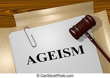 AGEISM - legal concept