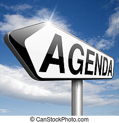 agenda weekly timetable and business schedule organizing and...