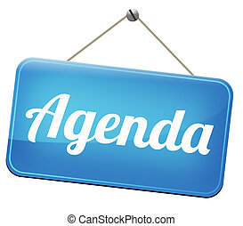 agenda timetable and business schedule organizing and...