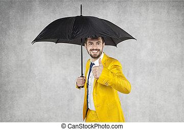 agent assurance, sous, les, parapluie