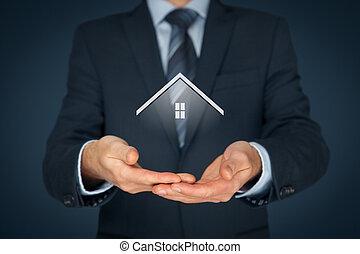 agente inmobiliario, verdadero