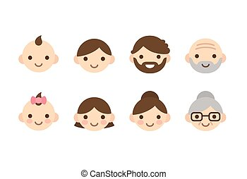 Ages icons