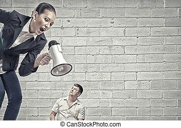 Aggression and humiliation in communication - Aggressive...