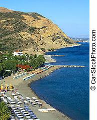 Agia Galini beach, Crete