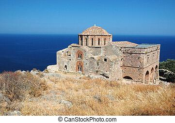 Agia Sofia church,Monemvasia,Greece