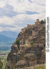 Agia Triada at Meteora, Greece.