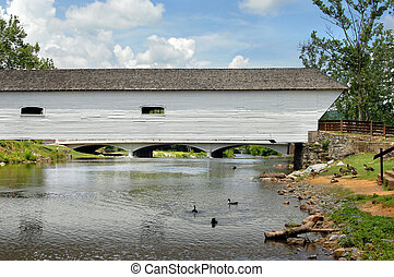 Aging Covered Bridge