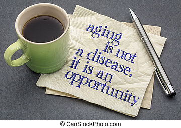 aging is not a disease
