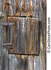 Aging Loft Door