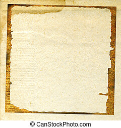 aging paper
