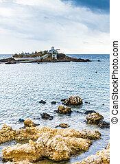Agios Fokas Laconia Greece in stormy weather - Agios Fokas ...