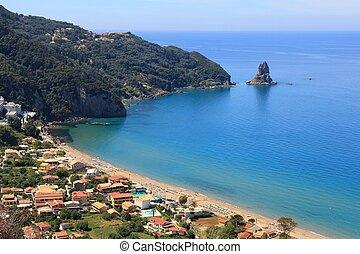 Agios Gordios, Corfu - Corfu island landscape - Agios ...