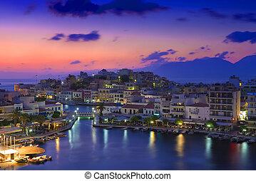 Agios Nikolaos. Agios Nikolaos is a picturesque town in the ...