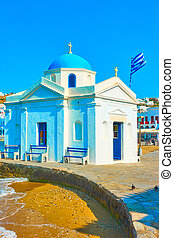 Agios Nikolaos Church in Mykonos - Agios Nikolaos Church by ...