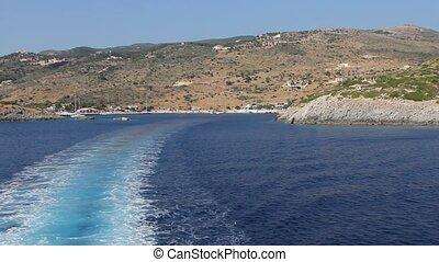 Agios Nikolaos Port - Zakynthos - Sailing near Agios...