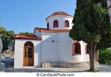 Agios Nikolaos, Skiathos - The church of Agios Nikolaos in...