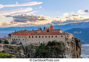 Agios Stephanos or Saint Stephen monastery located on the ...