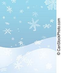 agitação, neve