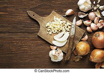 aglio, cipolle