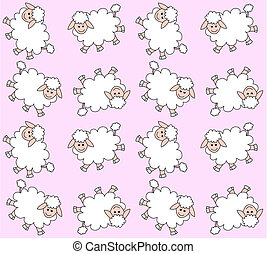 agnello, modello, seamless
