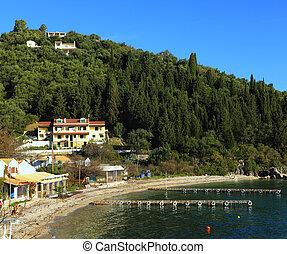 Agni village and jetties