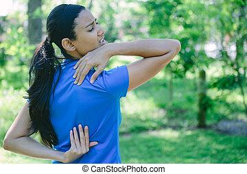 Agonizing stress after exercise