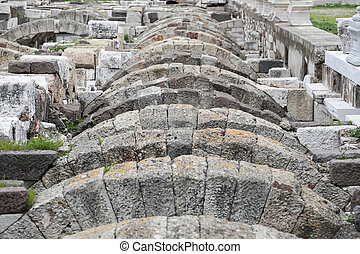 Agora of Smyrna in Izmir, Turkey - Agora of Smyrna in Izmir...