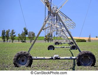 agrícola, regadera,  TH, Sistema