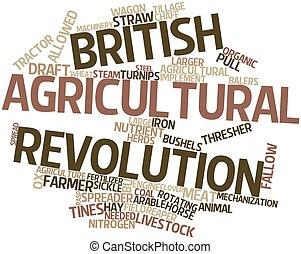 agrícola, revolución, británico