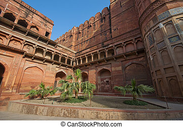 Agra Fort in India