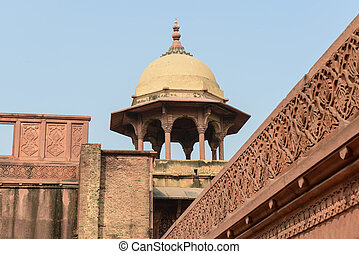 Agra Fort Tourist Destination in India