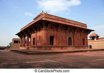 agra, sikri, fatehpur, inde