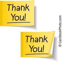 agradecer, you!
