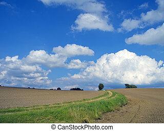 agrarisch, landschaftsbild