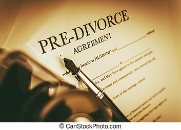 Agreement of Pre-Divorce