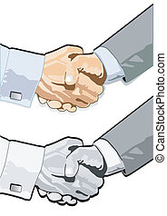 Agreement with a handshake