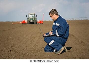 agricultor, calcular