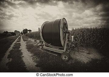 agricultura, maquinaria, itália