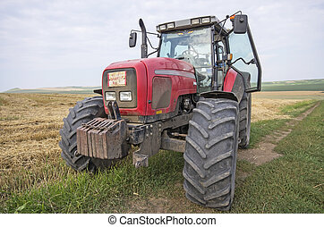 agricultura, tractor