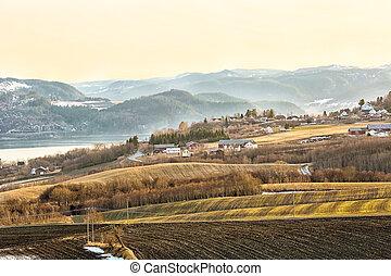 Agricultural area Byneset